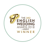 The 3rd English Wedding Awards North Winner 2018